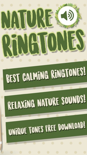 Nature Ringtones – Relaxing Sounds and Tones Free on the App