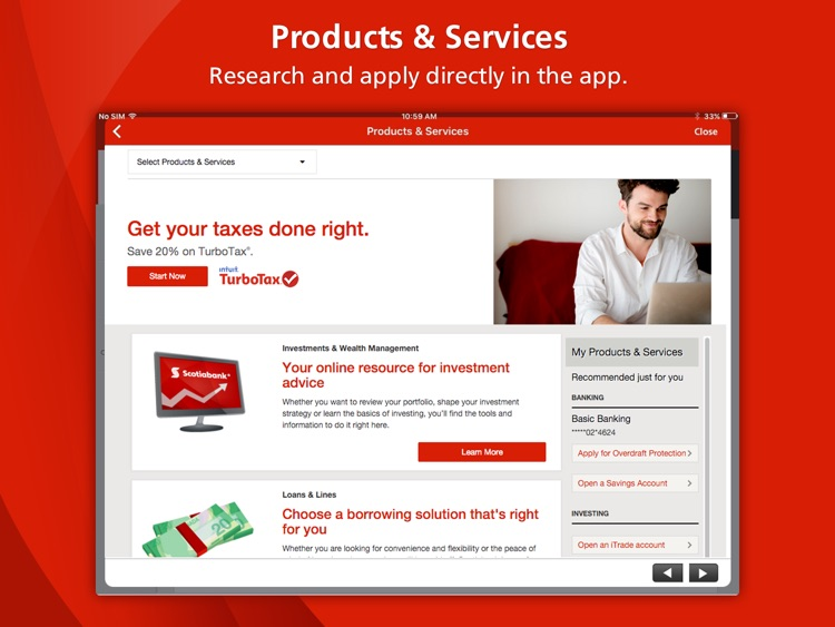 Scotiabank for iPad® screenshot-4