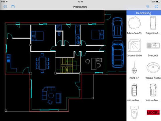 Cad Design 3d Edit Auto Cad Dwgdxfdwf Files App Voor Iphone