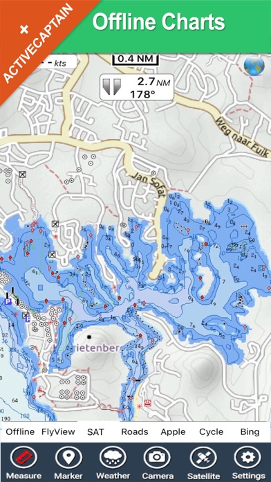 Curacao - GPS Map Navigator screenshot two