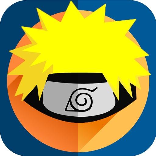 Naruto Edition Camera : Ninja Hair Fan Art Manga Sticker iOS App