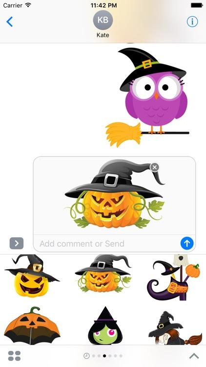 Halloween Stickers screenshot-4