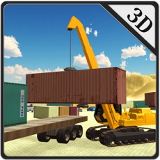 Activities of Crane Operator Simulator – Lift cargo containers & transport on heavy truck