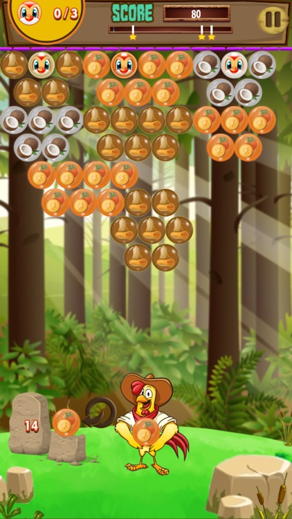 Farm and Bubble Adventure Classic bubble shoot fun
