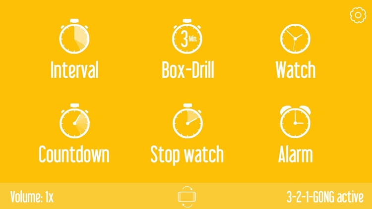 Basic Sports Timer: Countdown, Interval & BoxDrill
