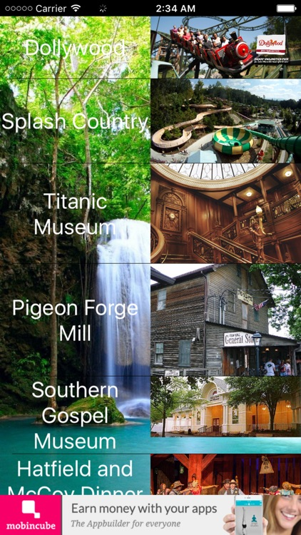 Pigeon Forge Gatlingburg Guide