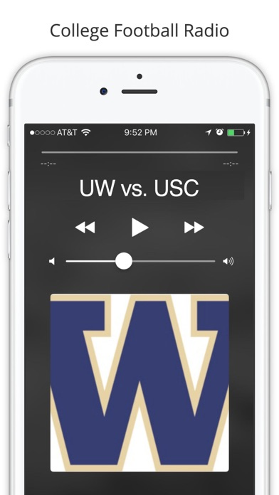PAC 12 College Football Radio - Live Games screenshot four