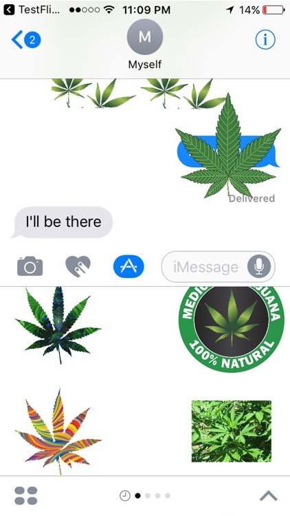 Weed Stickers for iMessage screenshot-3