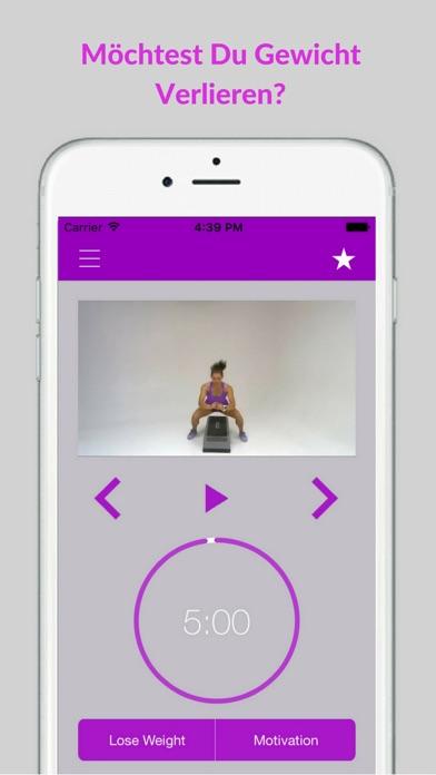 Step Aerobics Workout & Fitness Übungs RoutinenScreenshot von 2