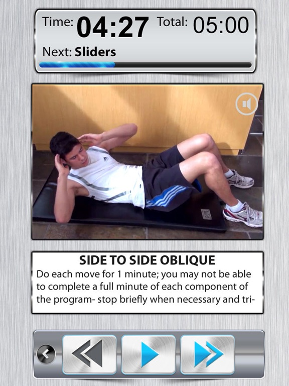 Ab Trainer X FREE+ Six-Pack Abs Exercises Workouts-ipad-0
