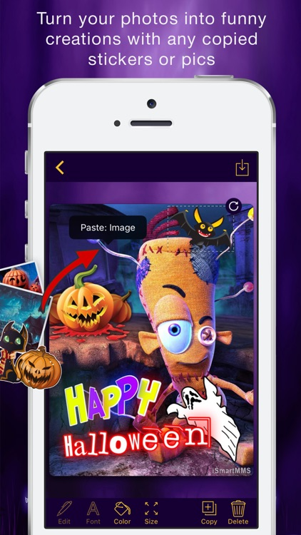 Halloween Cards Maker screenshot-0