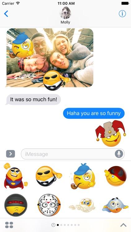 Mega Superhero Emoji – Stickers for iMessage