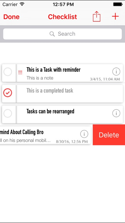 Todolist - Checklist, To-Do List and Task Manager screenshot-3