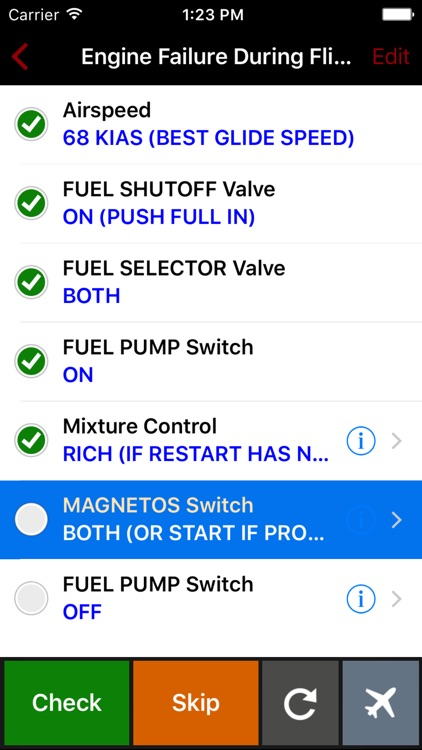 ForeFlight Checklist Pro for iPhone screenshot-4