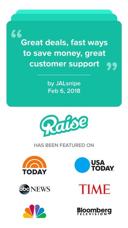 Raise - Discounted Gift Cards screenshot-4