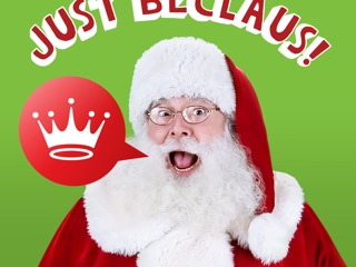 a3752cd030 Just BeClaus - Animated Christmas Santa Stickers