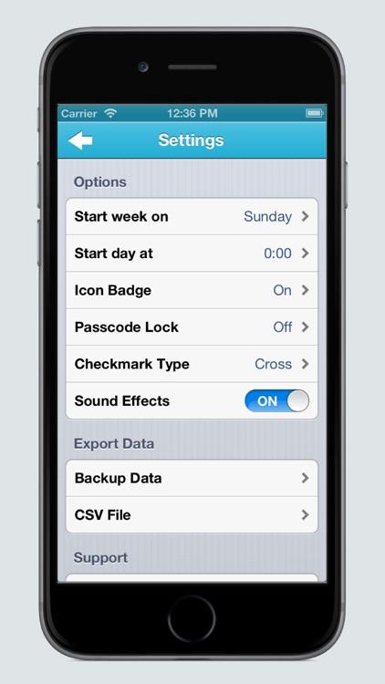Habit Keeper - Fast Habits Tracker screenshot-4