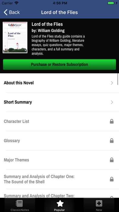 www gradesaver com classicnotes
