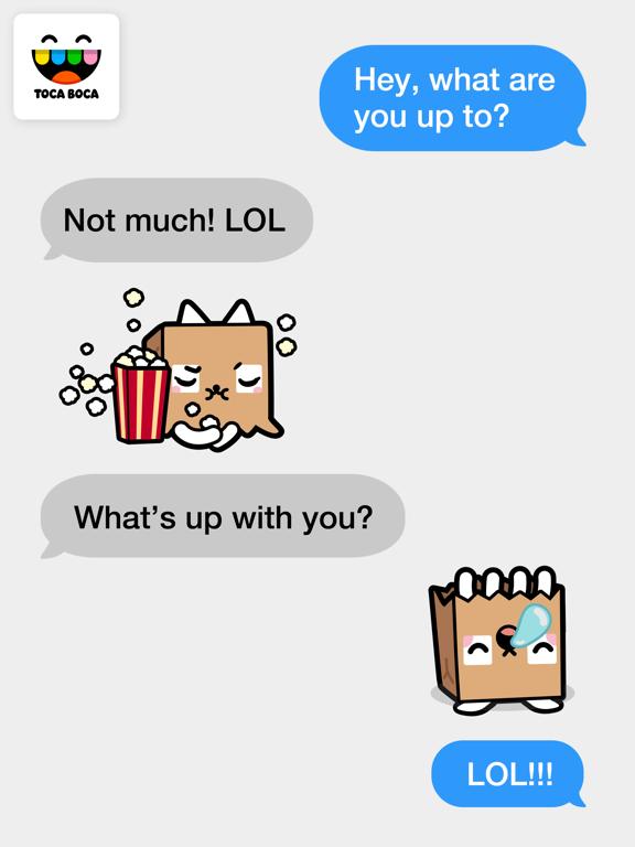 Toca Life Paper Bag Catのおすすめ画像3