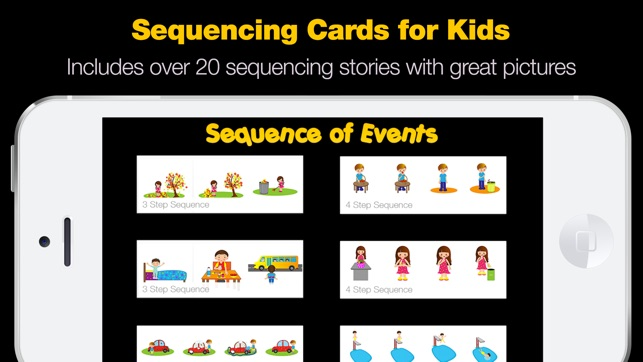 Sequence Of Events Sequencing Cards For Kids