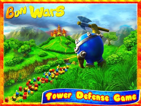 Колобки: Война и Драки! Игры стратегии на iPad