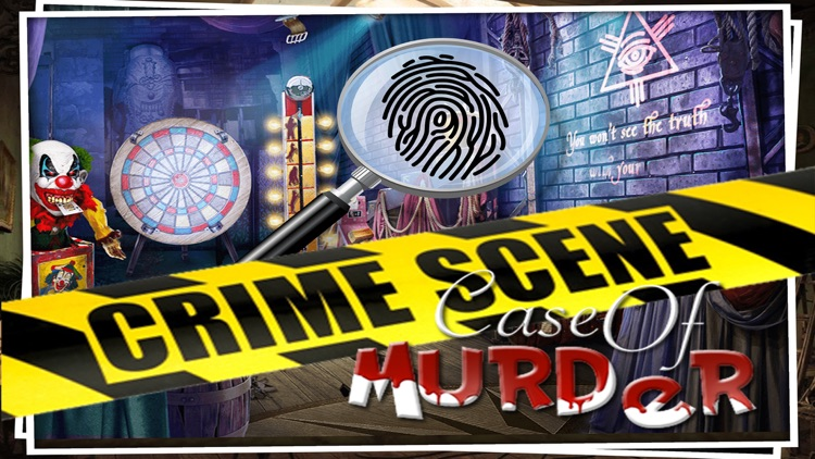 Case Of Murder Pro : Found Secret Clue - Crime Case Hidden object