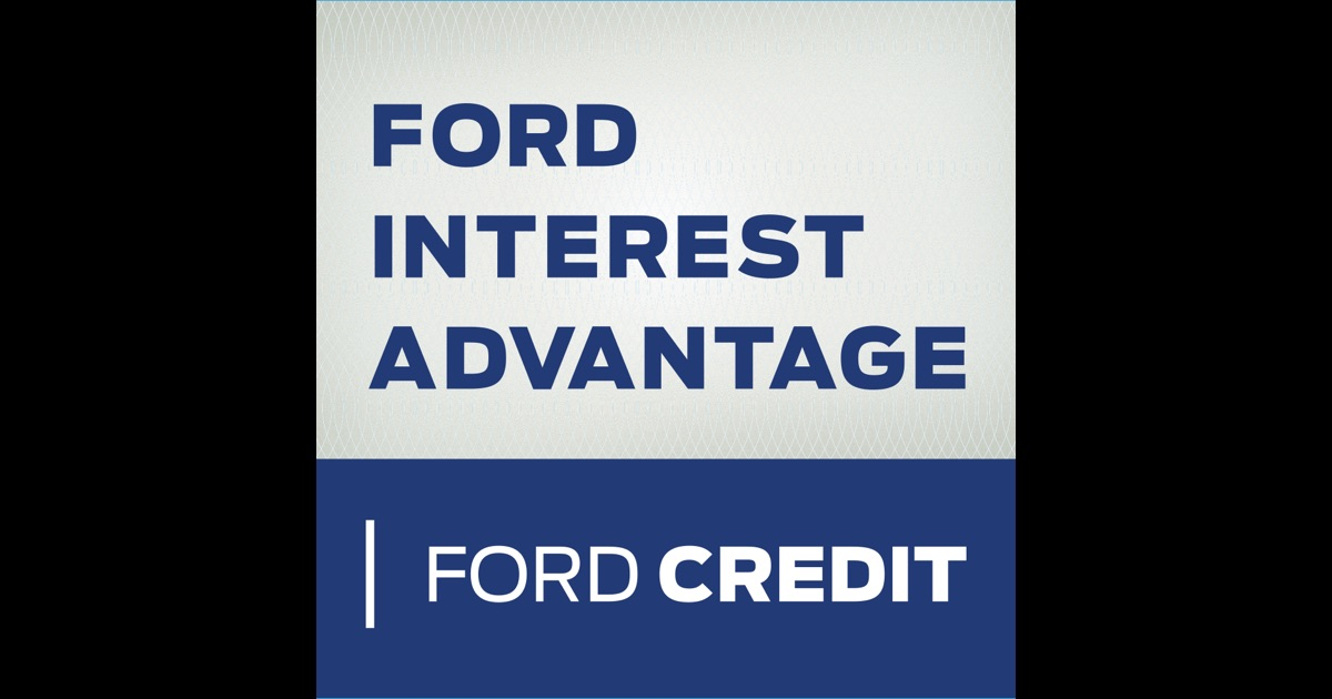 ford interest advantage app on the app store