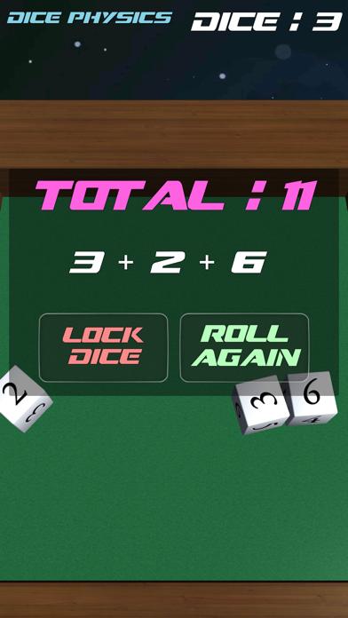 Dice Physics screenshot three
