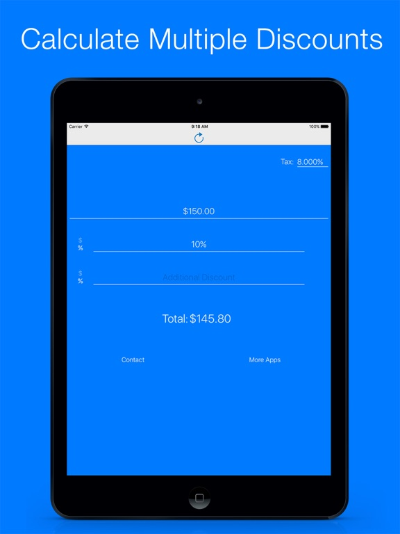 discount calculator sale price percentage finder app price drops