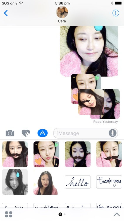 Sticker Booth : Animated GIF Stickers for iMessage