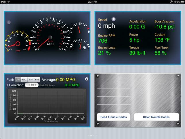 ‎Engine Link HD -OBD II vehicle monitor & diagnosis