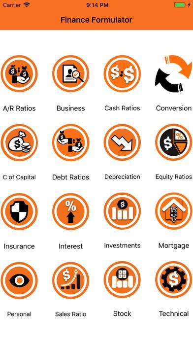 Finance Formulator review screenshots