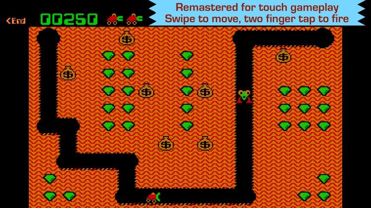 Digger - Classic retro arcade game
