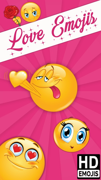 Love Emoji Icons & Romantic Emoticons