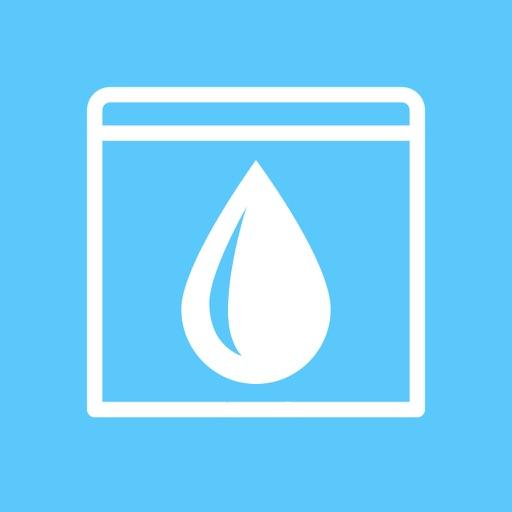 Water Widget for Fitbit