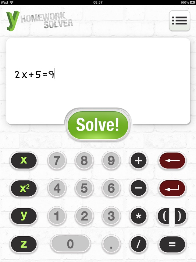 yHomework - Math Solver on the App Store