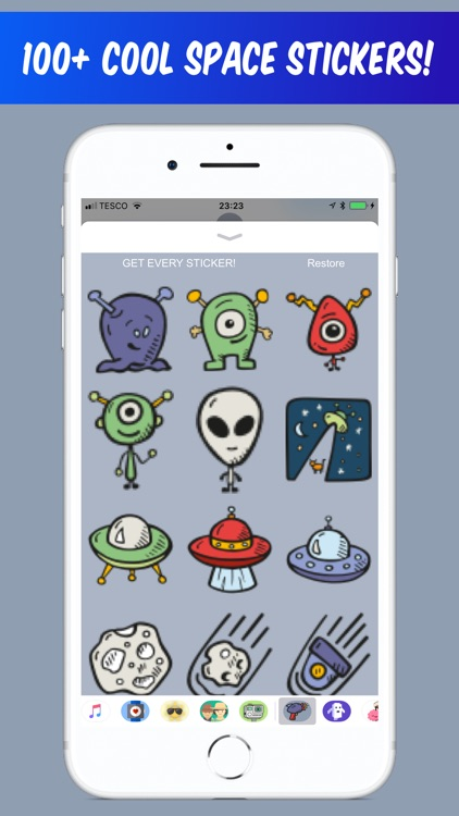 Space Stickers - for iMessage