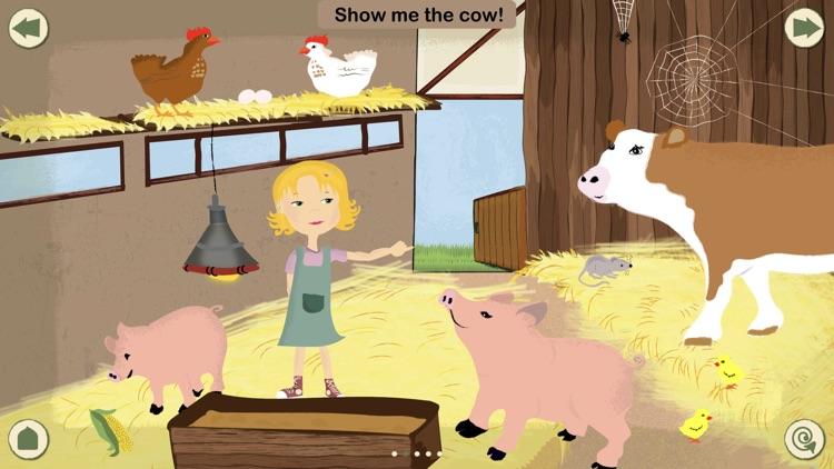 KinderApp Farm: My First Words screenshot-4