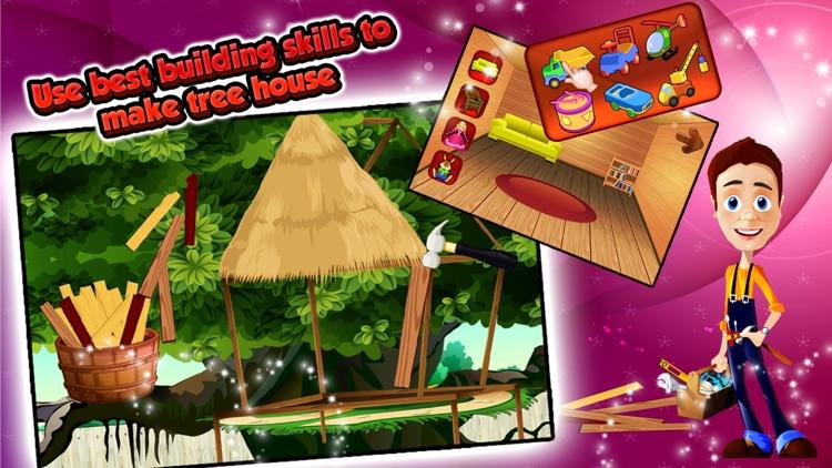 Build a Tree House – Create & design home for kids screenshot-3
