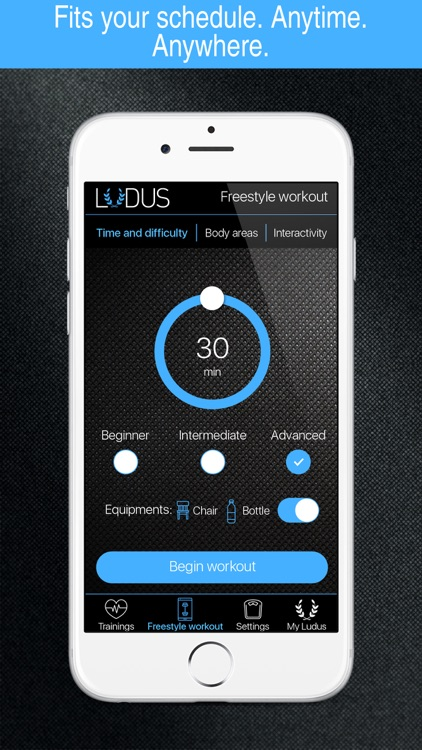 Workout with Ludus Men - Energized and Stronger