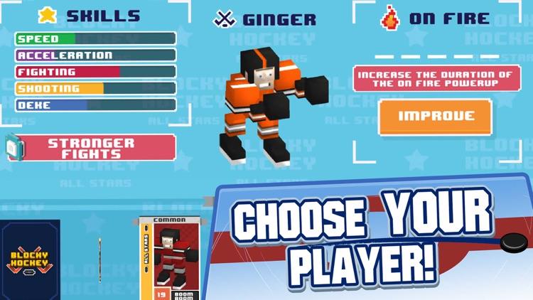 Blocky Hockey All-Stars screenshot-3