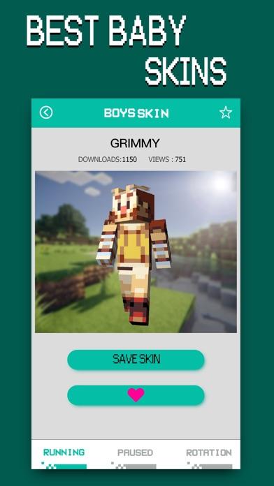 Baby Skins - Aphmau & FNAF Daycare Minecraft PE screenshot two