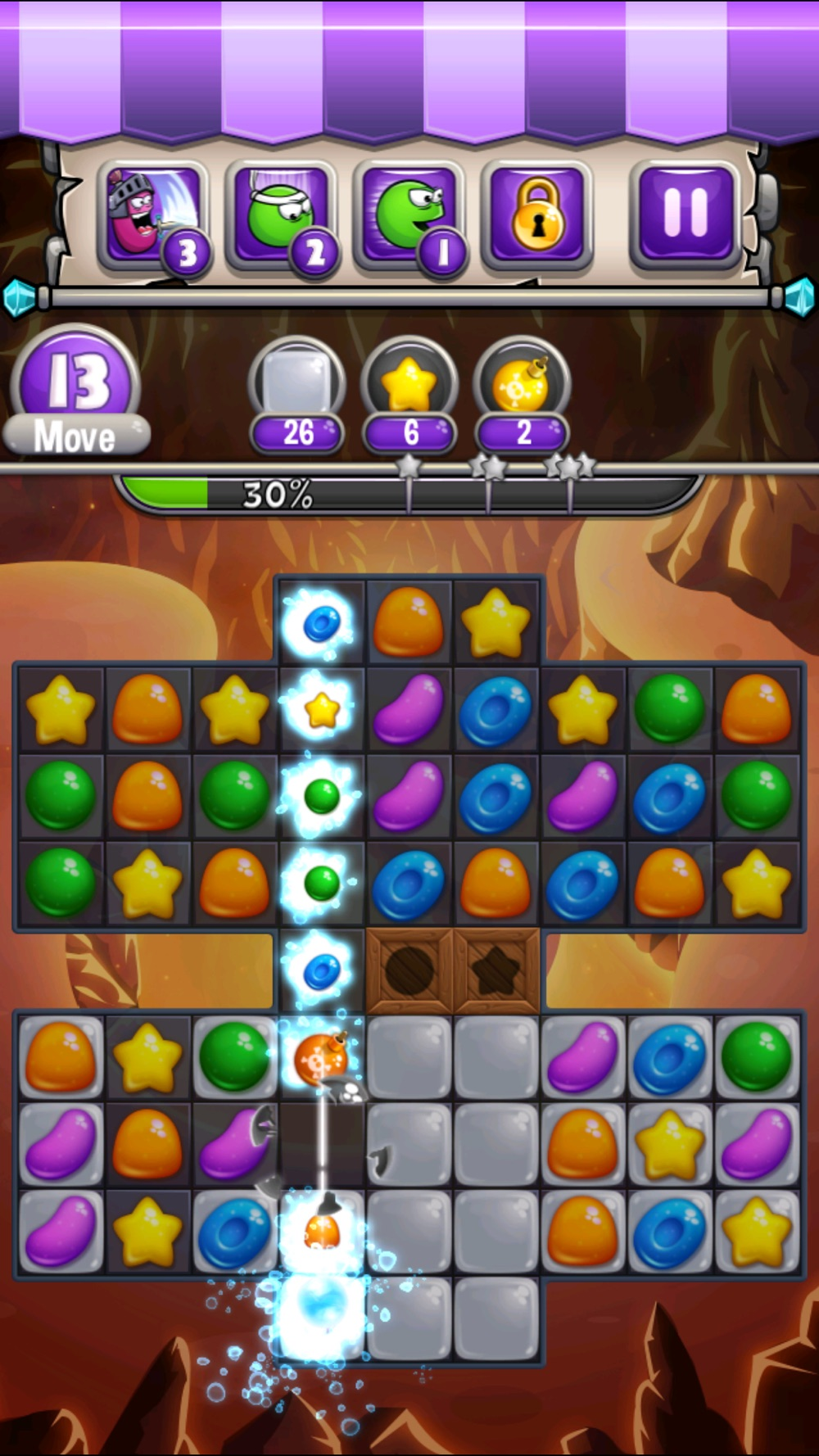 Jewel World Candy Deluxe hack tool