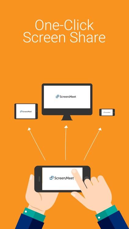 ScreenMeet. Easy Phone Meeting. Live Presentations