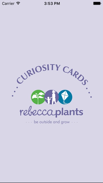 Rebecca Plants Curiosity Cards