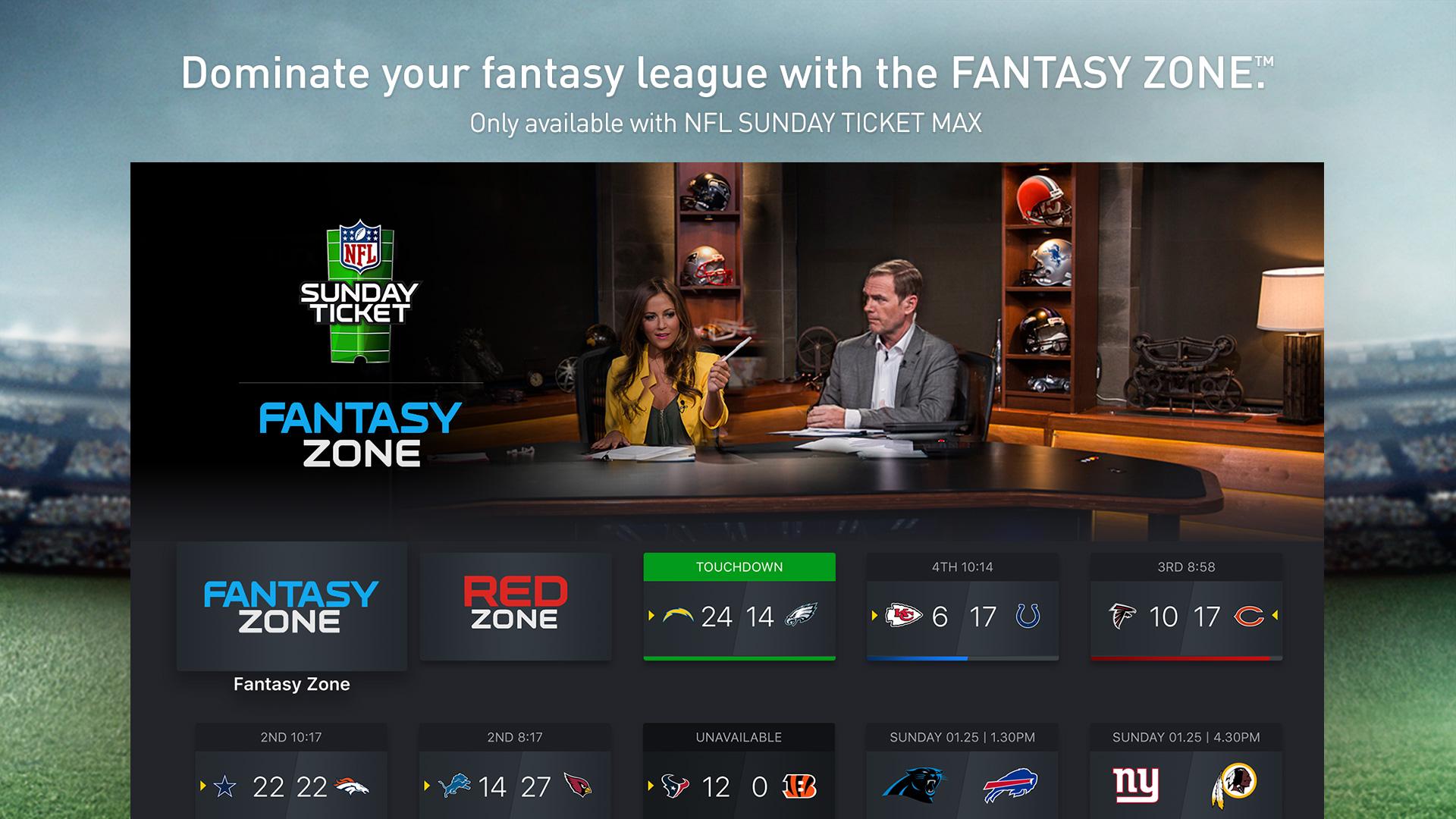 NFL SUNDAY TICKET for Apple TV screenshot 2