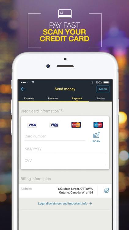 WesternUnion CA Money Transfer screenshot-3