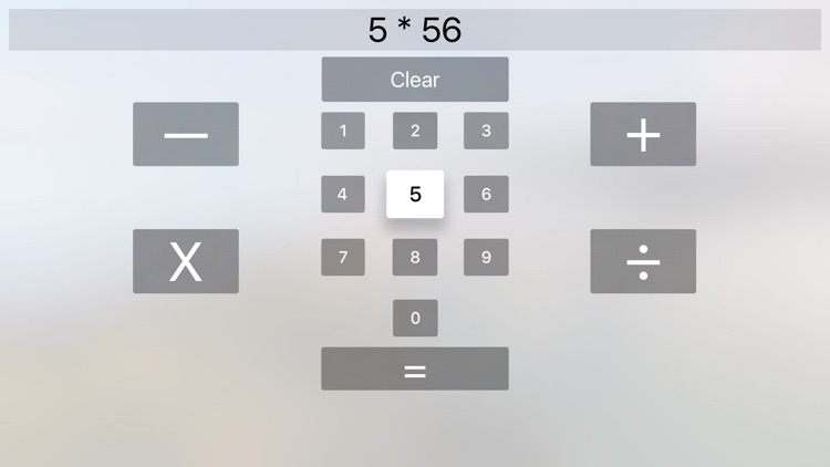 Calculator TV