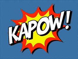 Ka-Pow! Comic Sound Effect Bubbles