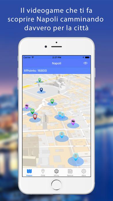 Screenshot of Lifcity Napoli - Mappa città e guida turistica1